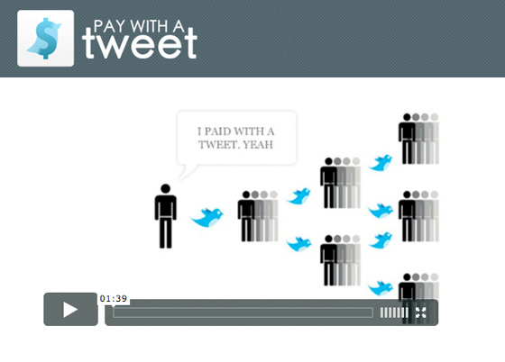 Pay with a twitt